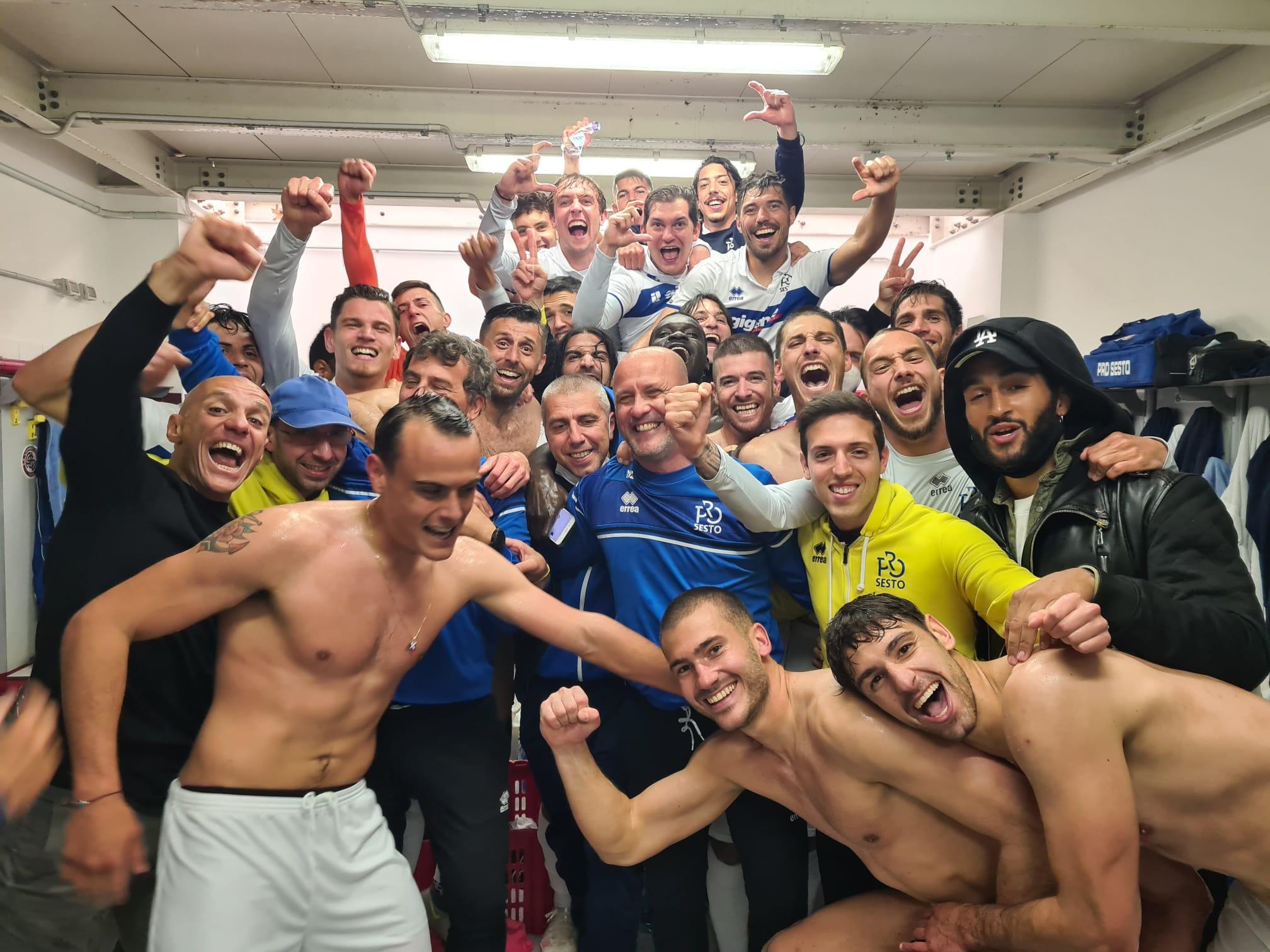 La Pro Sesto vince a Livorno e si salva!